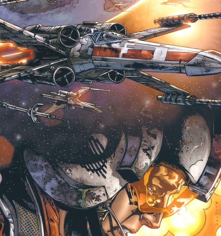 dessins et affiches star wars - Page 2 Star-wars-rogue-squadron